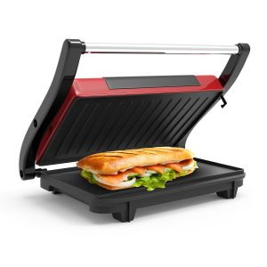Panini Press Indoor Grill and Gourmet Sandwich Maker
