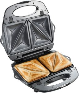T-fal SW6100 EZ Clean Easy to Clean Nonstick Sandwich and Waffle Maker