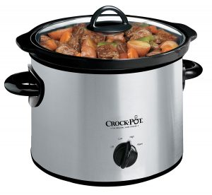 Crock-Pot SCR300-SS 3-Quart Manual Slow Cooker