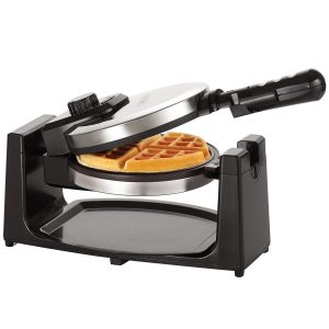 BELLA 13991 Classic Rotating Belgian Waffle Maker, Polished Stainless Steel