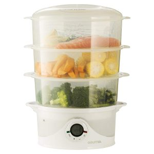 Gourmia GFS300 3 Tier Vegetable and Food Steamer