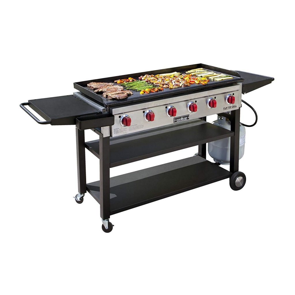 Camp Chef Flat Top Grill 900 Outdoor Griddle FTG900 Black