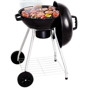 Giantex Kettle Charcoal Grill w/Wheels Shelf Temperature