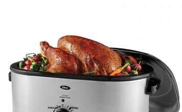 Oster Roaster Oven with Self-Basting Lid, 22-Quart, Stainless Steel