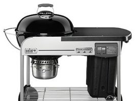 Weber 15501001 Performer Deluxe Charcoal Grill