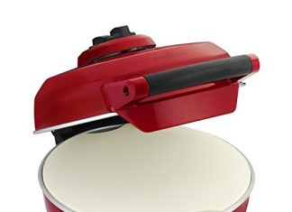 Breville Crispy Crust Pizza Maker (Cranberry)