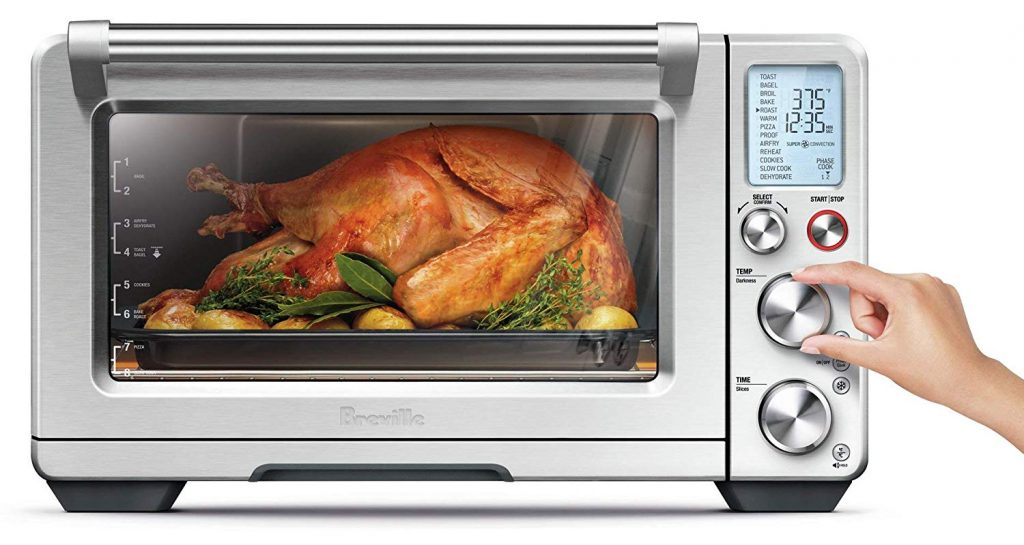 Breville BOV900BSS Convection and Air Fry Smart Oven Air 3