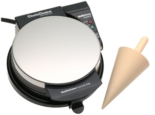 Chef'sChoice Chef's Choice 838 Waffle Express Ice Cream Cone Maker