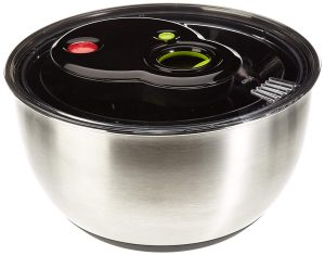 Emsa 513441 Turboline Salad Spinner Medium Silver