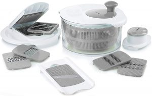 Gourmia GSA9230 Salad Maker Set Chef Salad Maker