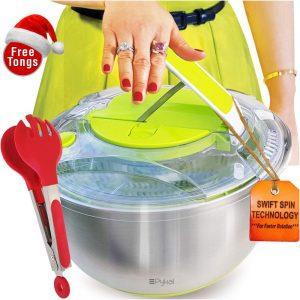 Stainless Steel Salad Spinner