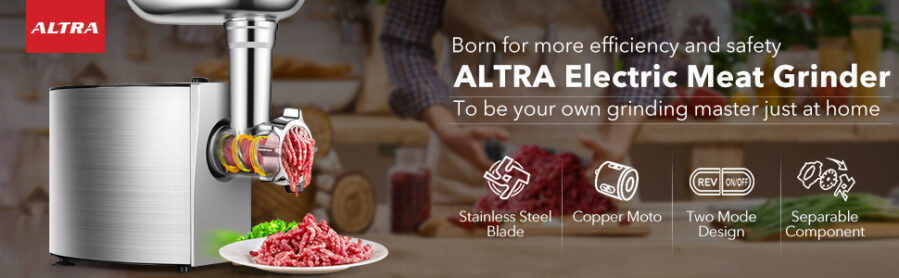 ALTRA Electric Meat Grinder