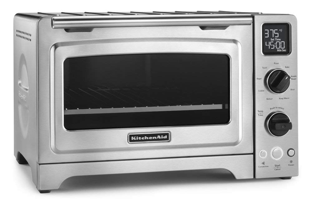 "KitchenAid KCO273SS 12"" Convection Bake Digital Countertop Oven"