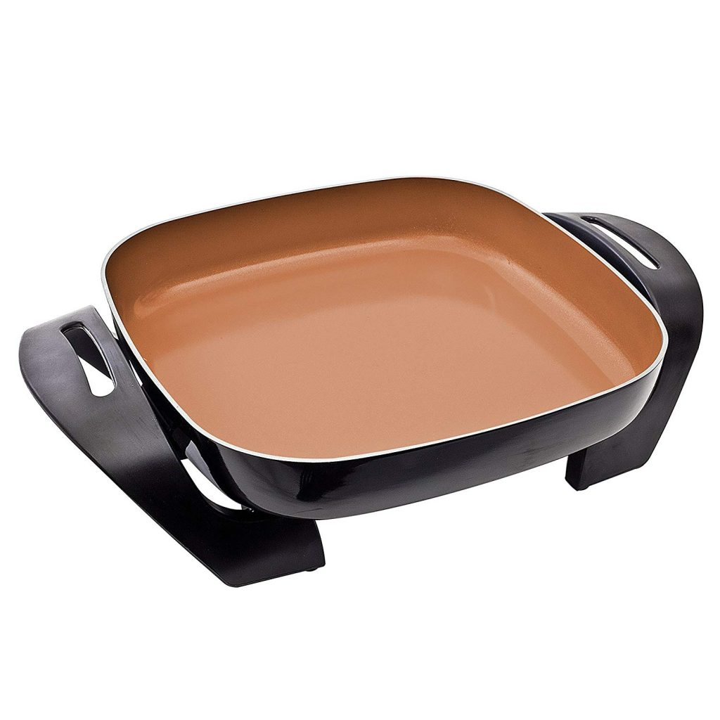 BELLA (14607) 12 x 12 Inch Electric Skillet