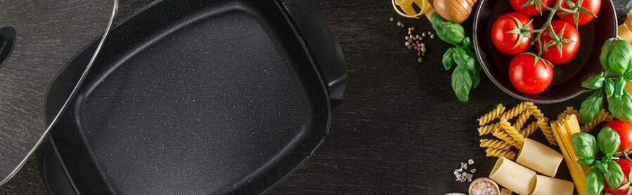 Elite Platinum EG-6203 Non-stick Electric Skillet