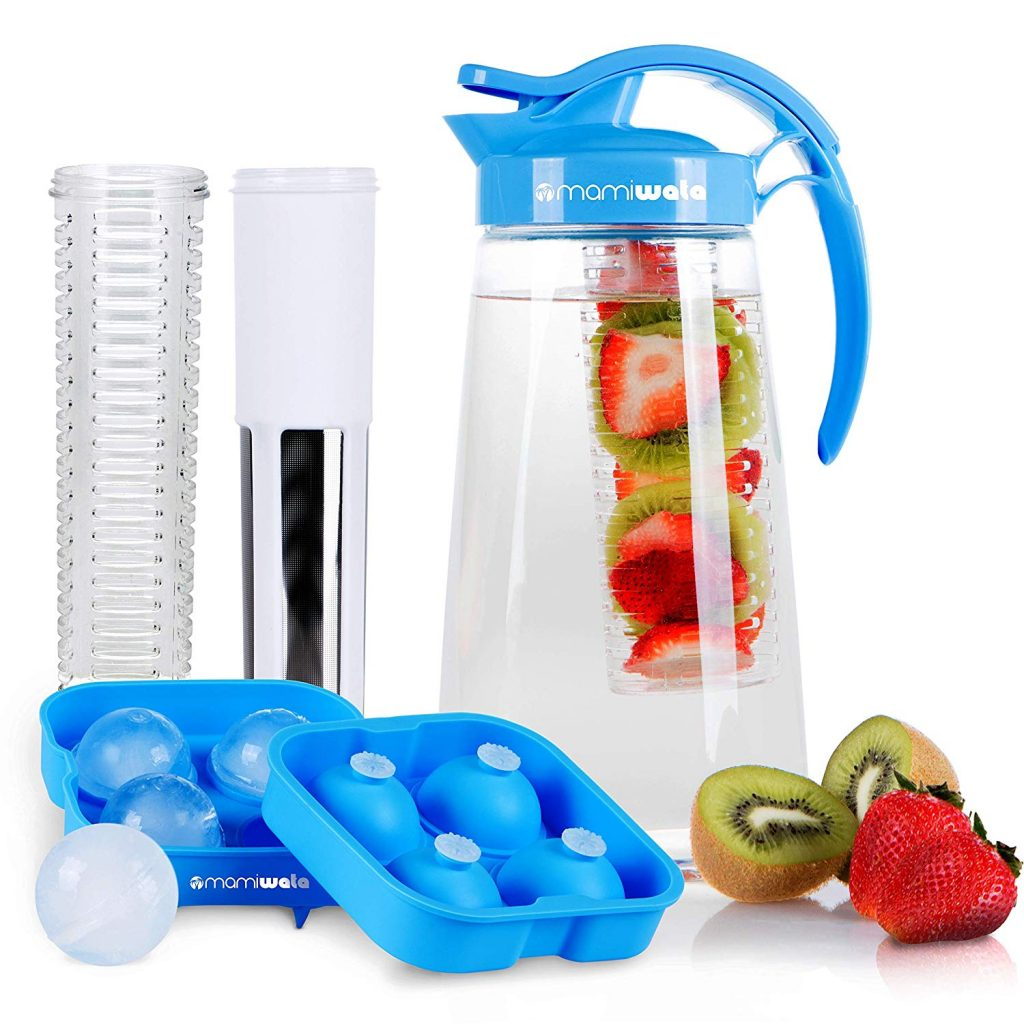 Fruit & Tea Infusion Water Pitcher
