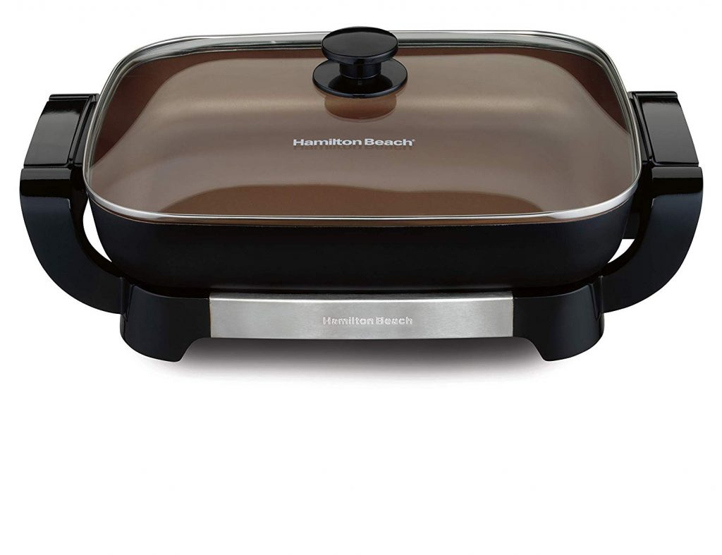 Hamilton Beach 38529 Durathon Ceramic Electric Skillet