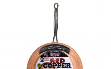 Red Copper 12 inch Pan