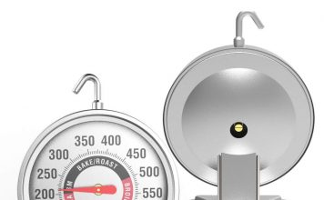 "Large 3"" dial oven thermometer"