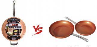 Red Copper Vs Copper Chef