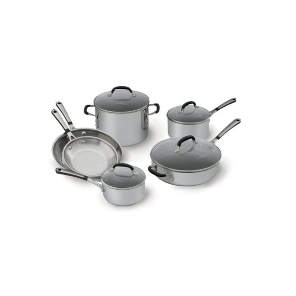Simply Calphalon 1757697 Stainless Steel 10 piece