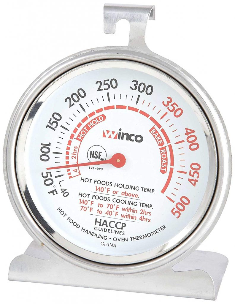 Winco TMT-OV3 B001B4KUPY 3-Inch Dial Oven Thermometer