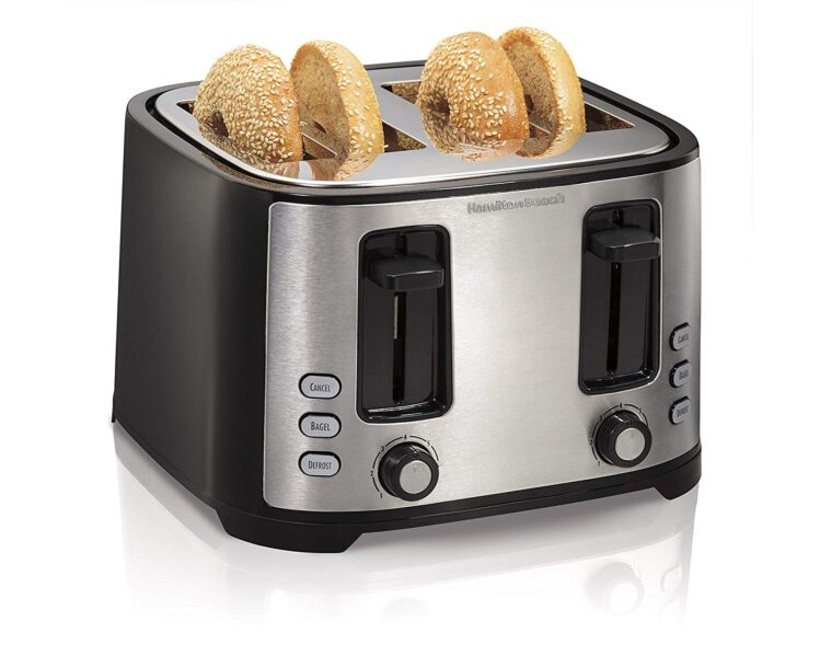 Hamilton Beach Extra-Wide 4-Slice Slot Toaster