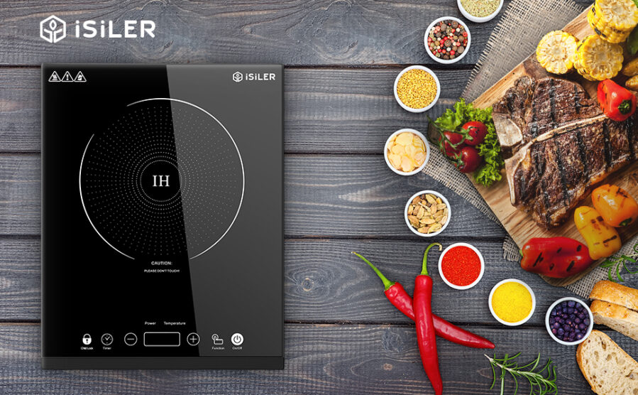 iSiLER 1800W Sensor Touch Electric Induction Cooker Cooktop