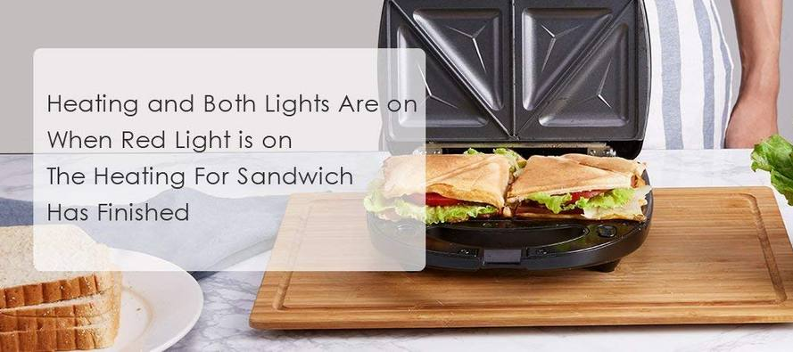 Aicok Sandwich Maker - Waffle Maker or Sandwich Grill