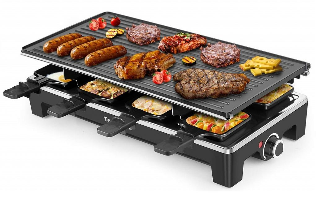 Electric Grill Techwood Raclette Grill