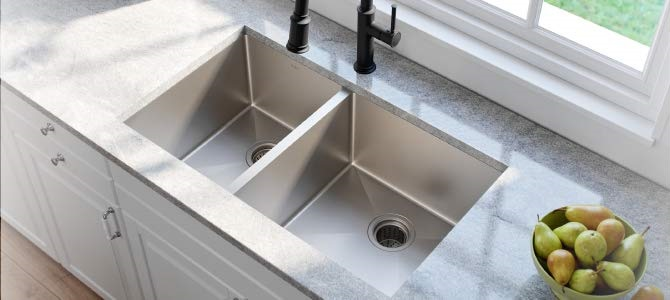 10 Best Kitchen Sinks Created With An