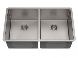 Kraus Standart PRO Double Bowl Stainless Steel Kitchen Sink