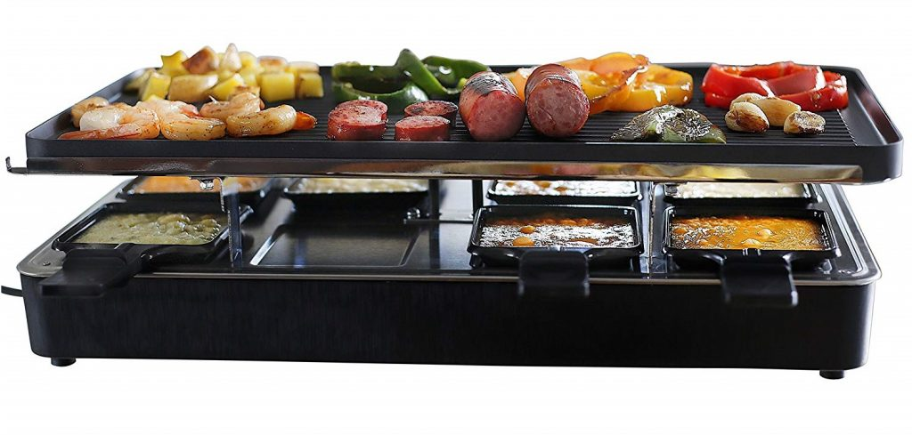 Milliard Raclette Grill for Eight People