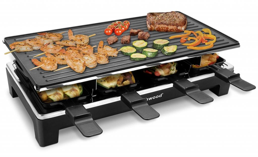 Techwood CMRC-300 Electric Raclette Grill