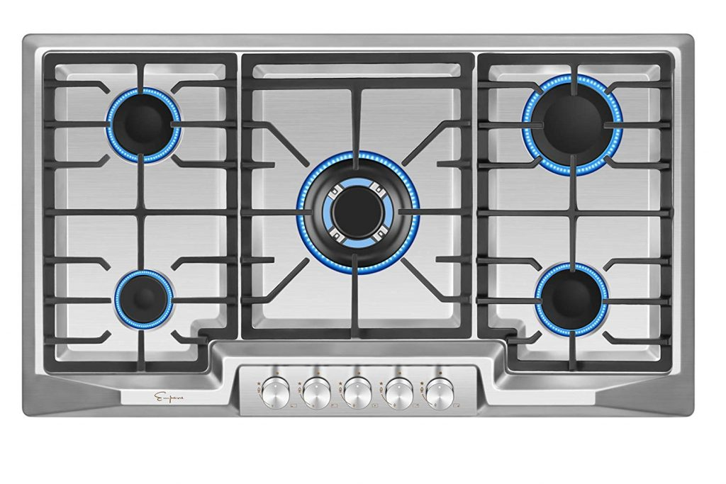 Empava Stainless Steel Gas Cooktop