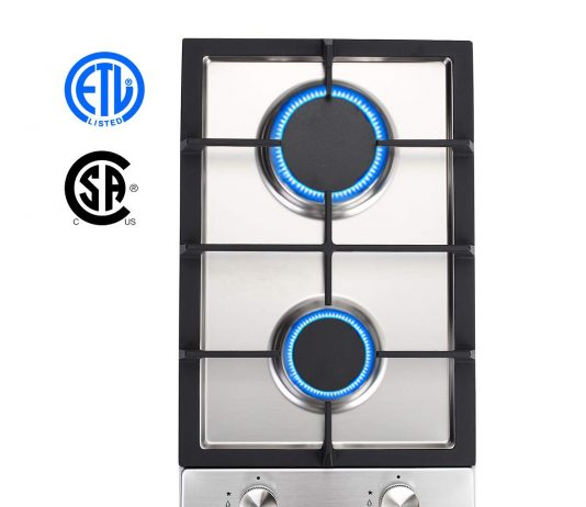 GASLAND Chef GH30SF 2 Burner Built-in Gas Cooktops