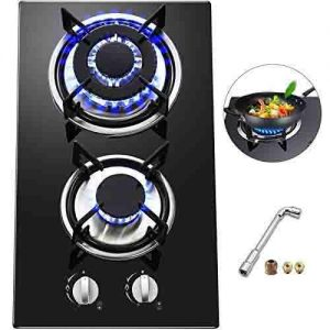 Happybuy 2 Burners Gas Stove Cooktop