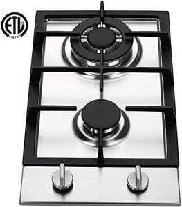 Ramblewood GC2-37P 2 burner gas cooktop