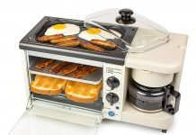 Nostalgia BSET100BC Retro 3-in-1 Breakfast Station