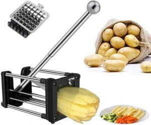 Professional Potato Chipper with Extended Handle