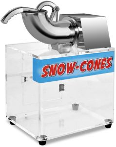 Costzon Ice Shaver, Stainless Steel Electric Crusher