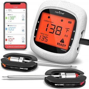The NutriChef Smart Bluetooth Meat Thermometer