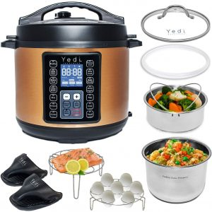 The Yeti 9-in1 Total Package Instant Programmable Multi-Cooker