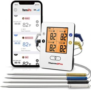 ThermoPro TP25 Wireless Bluetooth Meat Thermometer