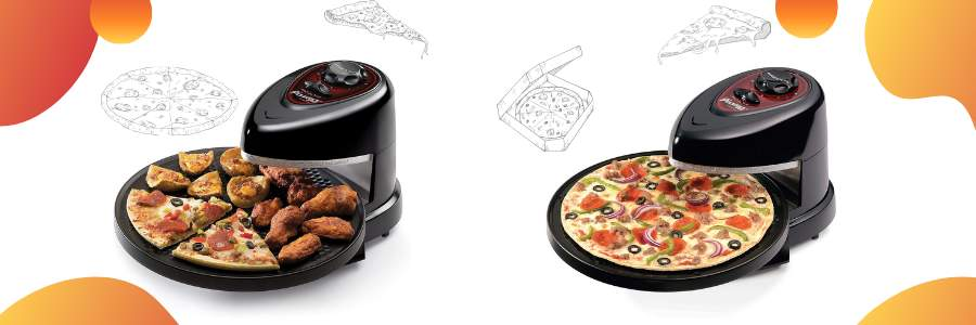 Rotating Pizza Oven Cover